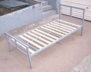 Clean Tubular Single Bed Frame Inala Brisbane South West Preview