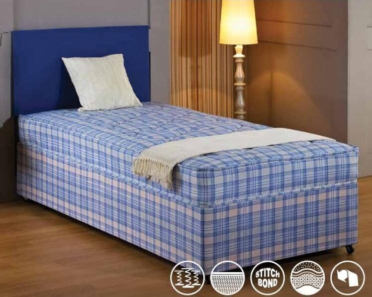100 guranteed brand new 3ft single divan bed with 9inch for New single divan beds