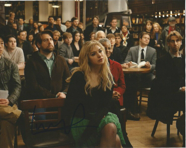 Imogen Poots Awkward Moment Autographed Signed 8x10 Photo COA