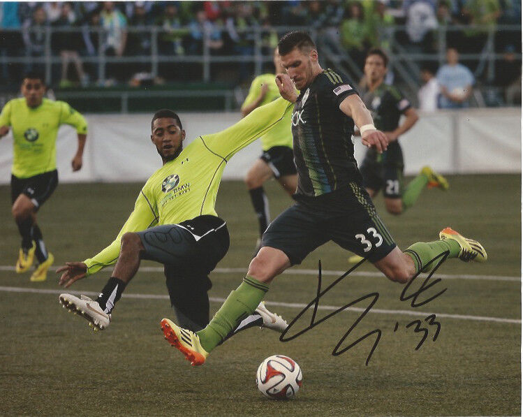 Seattle Sounders Kenny Cooper Autographed Signed MLS 8x10 Photo COA B