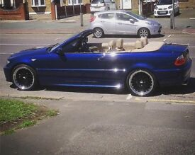 Bmw 318ci convertible m sport - £2500 ONO - low mileage - excellent example