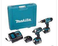 Makita tools set (cash reward)