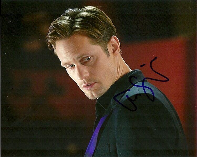 True Blood Alexander Skarsgard Autographed Signed 8x10 Photo COA