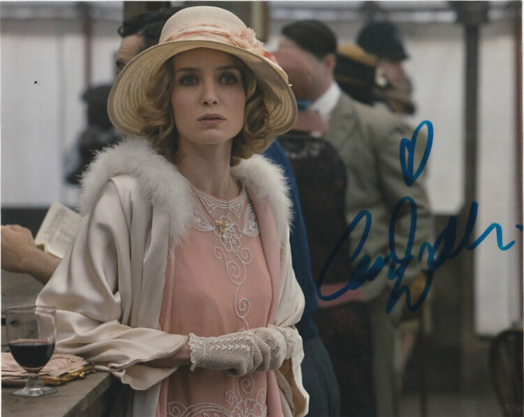 Annabelle Wallis Peaky Blinders Autographed Signed 8x10 Photo COA D