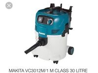 Brand new240v m class dust extractor,also comes with pole and additional hose which isnt as standard