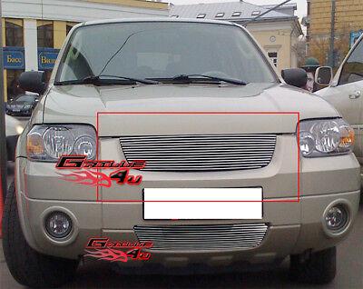 Fits 2005-2007 Ford Escape Billet Main Upper Grille Insert Ford Escape Billet Grille