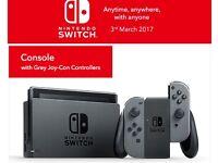 Nintendo Switch - Grey - In Stock