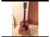 """Honda guitar """"H 18"""" acoustic. PICK UP."""