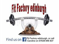 Fit Factory edinburgh various styles of fitness classes in the sth west of the city