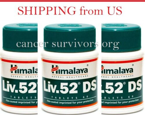 3 Bottles 60 tablets Liv 52 DS liver care natural remedies