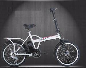 NEW ELECTRIC FOLDING BIKE BICYCLE. NO FUEL. NO REGO. NO LICENCE. Adelaide CBD Adelaide City Preview