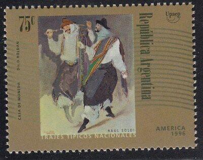 upaep Argentina 1958 1996 Gauchos Kostüme typische MNH