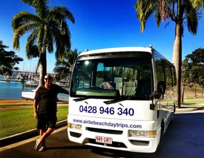Nissan Civilian Bus  Airlie Beach