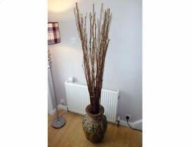 Large Vase & Twigs