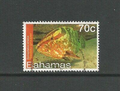 Bahamas 2012 70c Grouper, used.  Fish.  SG1610