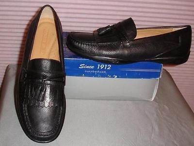 Nunn Bush Men's Black Landis Loafer Slip On So Shoes Sizes