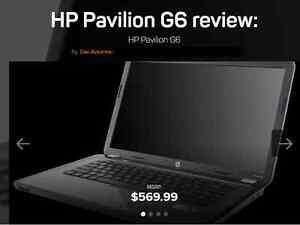 HP Pavilion G6 series Quad Core Laptop...DEAL!!!