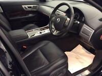 2010 Jaguar XF 3.0 TD V6 Premium Luxury 4dr Diesel black Automatic