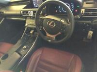2015 Lexus IS 2.5 F Sport E-CVT 4dr PETROL/ELECTRIC grey CVT