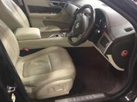 2010 Jaguar XF 3.0 TD V6 Portfolio 4dr Diesel black Automatic