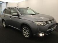 2014 Mitsubishi Outlander 2.0 PHEV GX4hs 4x4 5dr (5 seats) PETROL/ELECTRIC grey