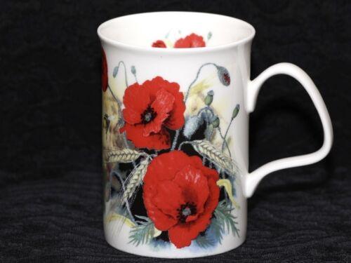 ROY KIRKHAM POPPY'S Fine Bone China LANCASTER Mug #1a
