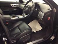 2012 Jaguar XF 2.2 TD Premium Luxury 4dr Diesel black Automatic