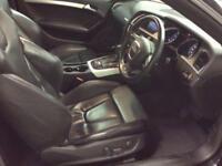 2009 Audi A5 4.2 FSI Tiptronic Quattro 2dr Petrol black Semi Auto