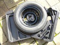 Nissan Qashqai Space-Saver Spare Wheel & Tyre