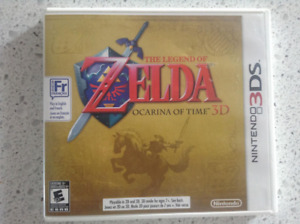 Legend Of Zelda : Ocarina Of Time 3DS