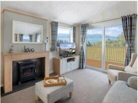 For sale luxury seaview holiday home lodge with decking 3 bed beach pool bar