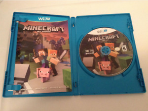 Minecraft Wii U (Disque comme neuf)