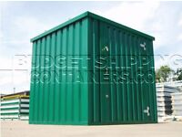 Garden sheds new galvanised self-assembly storage units