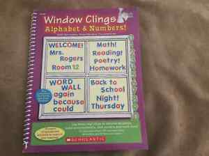 Brand new book of Window Clings