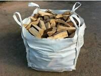1 tonne bag of logs