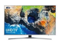 NEW 50'' SAMSUNG SMART 4K ULTRA HDR LED TV.UE50MU6120. WIRELESS CONNECTION. FREE DELIVERY/SETUP