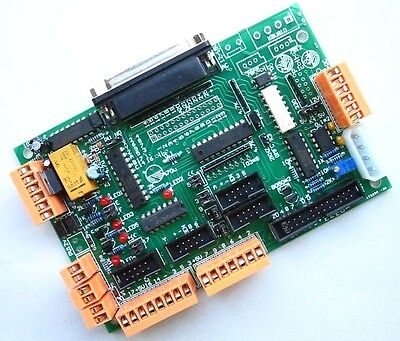 Ttl74245 Mach3 Kcam4 Gmfc 6 Axis Cnc Parallel Port Motor Driver Interface Board