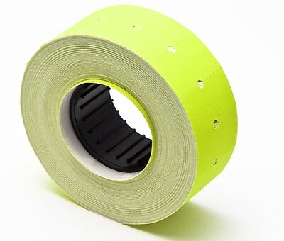 Motex Mx 5500 Label Fluorescent Yellow 10 Rolls Of 1000 Each Total 10000 Labels