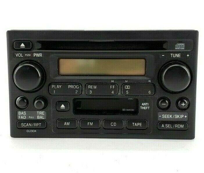 02 03 04 Honda CVR 2XN2 AM FM Radio 39101-SCA-A110-M1