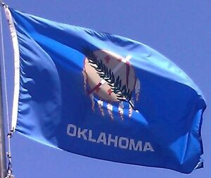 NEW 3x5 ft OKLAHOMA STATE OF FLAG