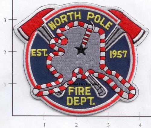 Alaska - North Pole AK Fire Dept Patch