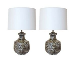 Designer MCM table lamps by Alvino Bagni 1950's