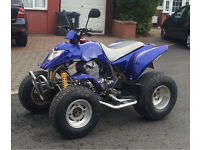 Road legal quad bike Apache 250 not Quadzilla Yamaha raptor sport