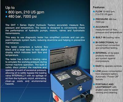 Dht401-b-6 Webtec Digital Flowmeter Hydraulic Tester Test Unit