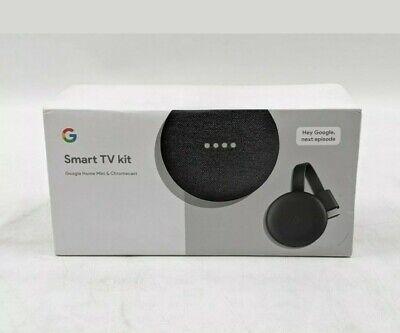 New Google Smart TV kit Google Home Mini & Chromecast -AS0611