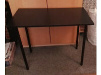 Black desk / table