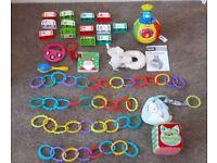 Vtech Pop Up Surprise Ball, Boofle, Blocks & Dangle Chains Baby Bundle