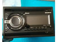 SONY GT90BT DOUBLE DIN HEADUNIT WITH BLUETOOTH AND USB