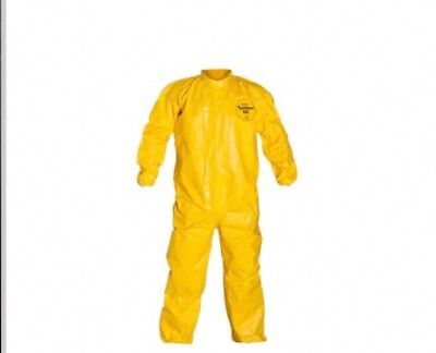 Dupont Tychem Coverall Qc120sylmd001200 Size Md Box Of 12
