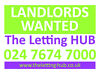 LANDLORDS - PROPERTIES WANTED URGENTLY in NUNEATON - 2 OR 3 BED flats and houses Nuneaton